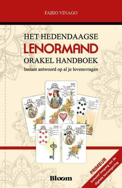 Het hedendaagse Lenormand Orakel Handboek Fabio Vinago 9789072189189 boek Bloom web