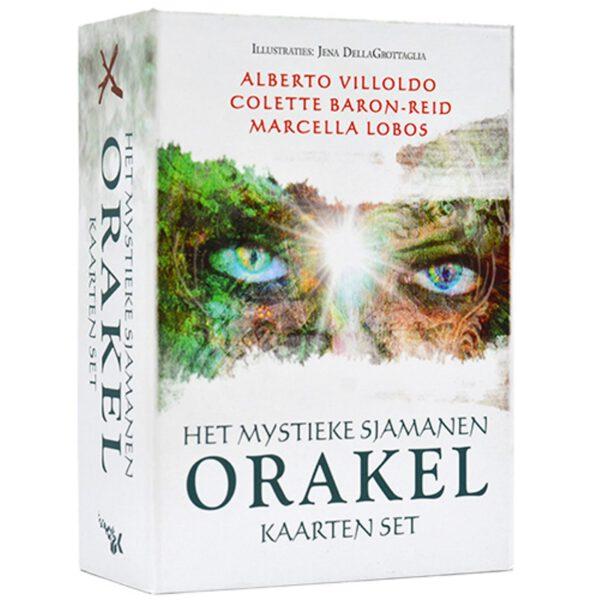 Het mystieke Sjamanen orakel kaartenset 9789085082347 Colette Baron Reid Bloom Web