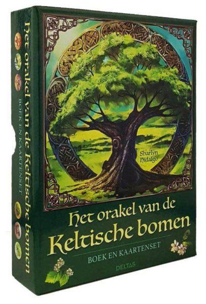 Het orakel van de Keltische bomen Boek en kaartenset 9789044749021 Sharlyn Hidalgo Bloom Web