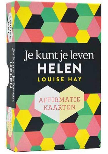Je kunt je leven helen affirmatiekaarten Louise Hay 9789020215519 kaartenset Bloom web