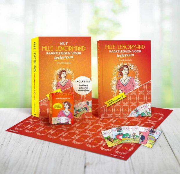 Kaartleggen voor iedereen SET Erna Droesbeke 9789072189196 boek kaarten waarzegbord Bloom Web