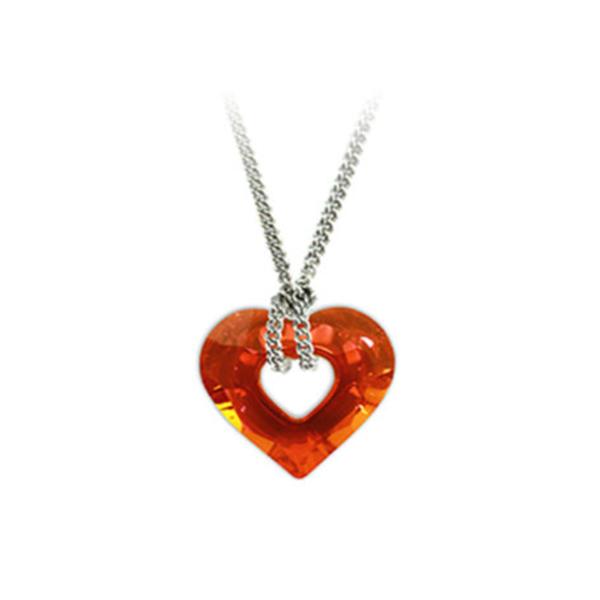 Kristallen Hanger Oranje Ketting Webshop Bloom 1