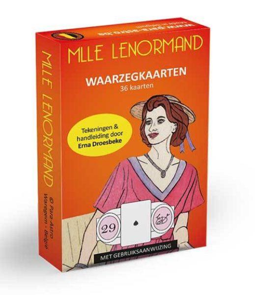Lenormand Waarzegkaarten Erna Droesbeke 9789063784997 kaarten Bloom Webshop
