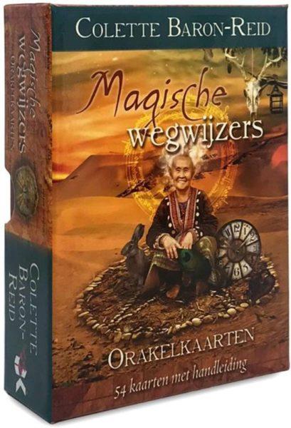 Magische Wegwijzers Orakelkaarten Colette Baron Reid 9789085081906 Doos Bloom Web