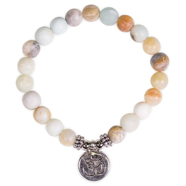 Mala Armband Amazoniet Ohm Bloom Web