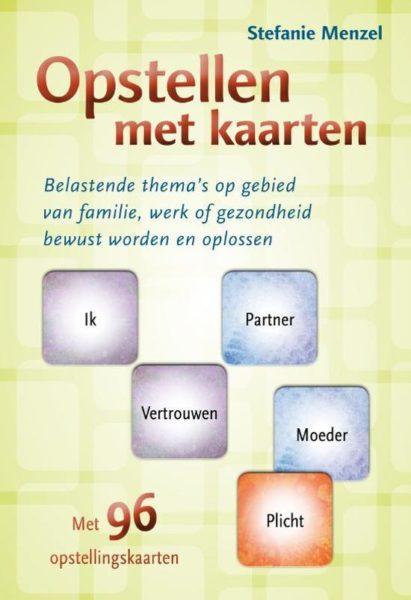 Opstellen met kaarten Stefanie Menzel 9789460150401 boek kaarten Bloom web