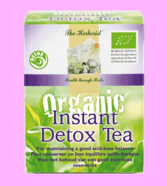 Organic Detox Thee the Herborist Bloom web