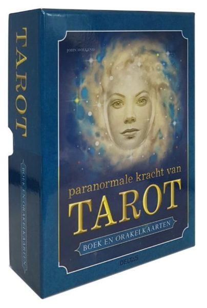 Paranormale kracht van Tarot boek en orakelkaarten John Holland 9789044744248 Bloom Web