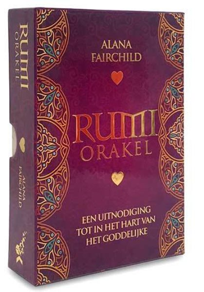 Rumi orakelkaarten Alana Fairchild 9789085082194 set boek kaarten Bloom web