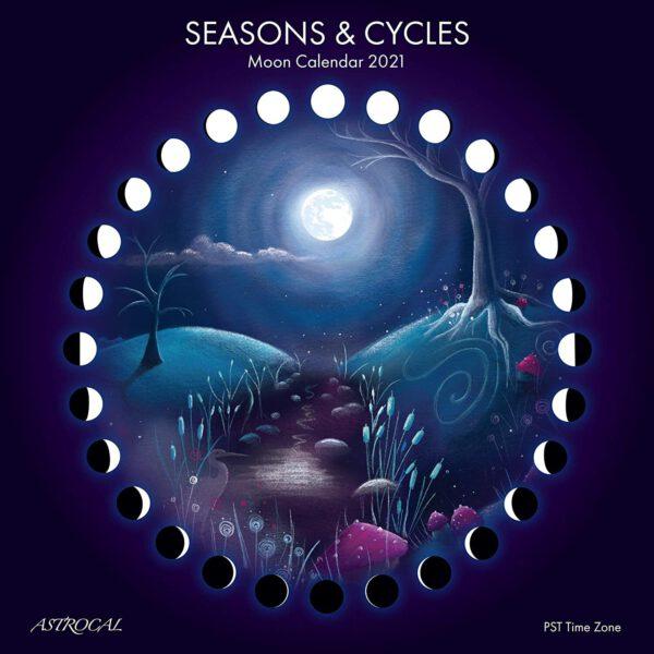 Seasons cycli 2021 Maankalender Bloom web