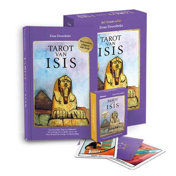 Tarot van isis set Erna Droesbeke 9789072189264 boek Bloom web2