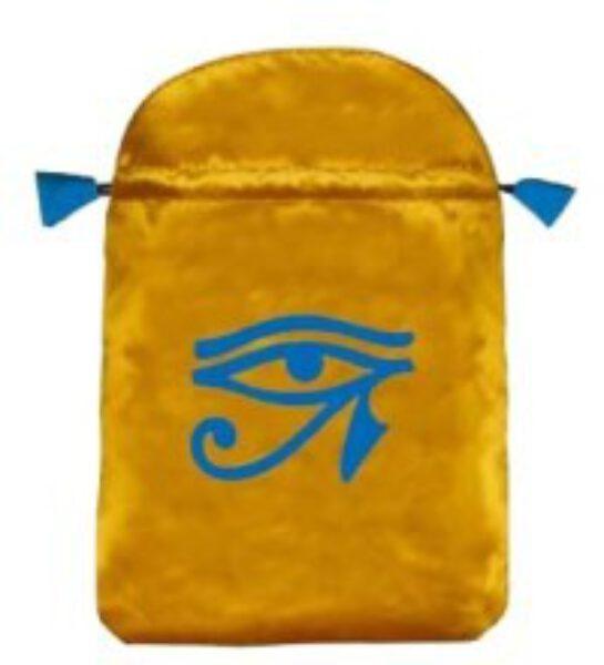 Tarotbuidel Horus Oog Geel Blauw