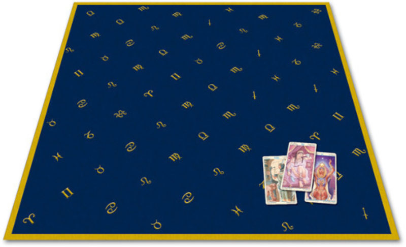 Tarotkleed Astrologie waarzegdoek Bloom Webshop Kaartleggen