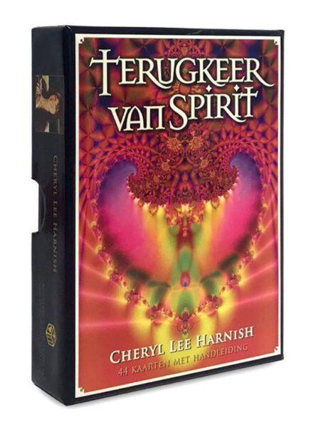 Terugkeer van spirit 9789085081852 Cheryl Lee Harnish Kaarten Bloom Web