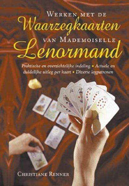 Werken Met De Waarzegkaarten Van Mlle Lenormand Christiane Renner 9789063784980 Boek Bloom Web