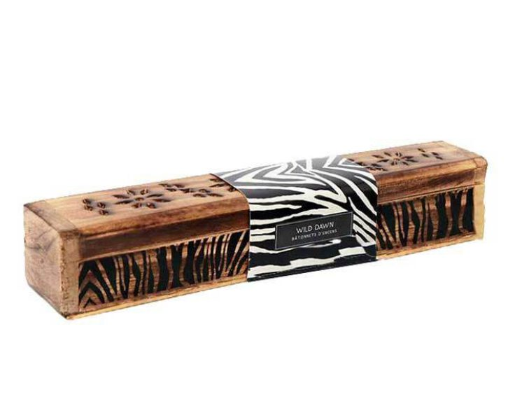 Wierookhouder met zebra print Box Web Bloom