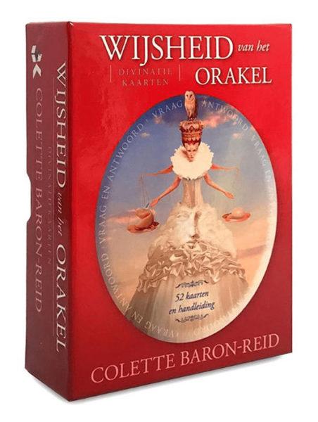 Wijsheid van het orakel Colette Baron Reid 9789085082187 kaarten Bloom web