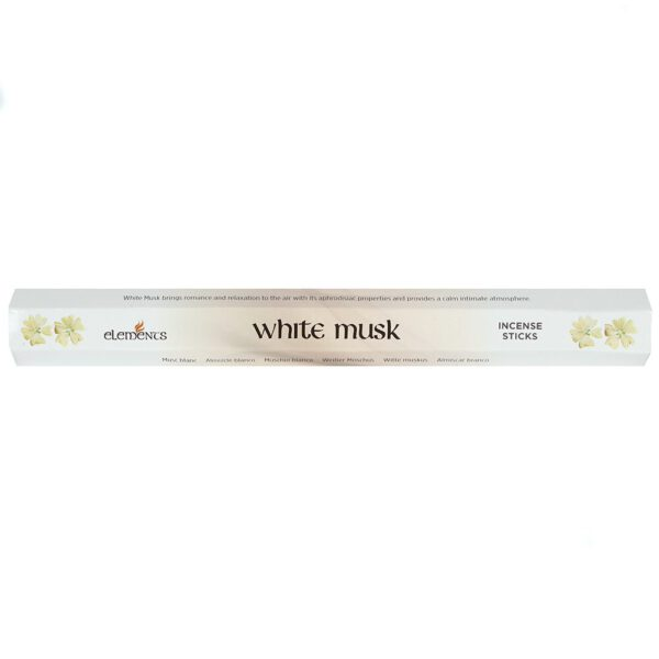 Witte Musk subtiele geur 1 pakje Bloom Web