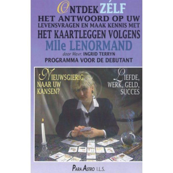 DVD Kaartleggen met Mlle Lenormand kaarten voor beginners Ingrid Terryn