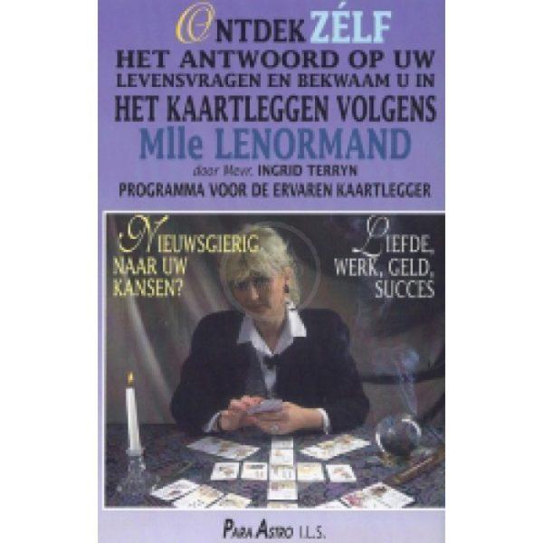 DVD Kaartleggen Mlle Lenormand voor gevorderden Ingrid Terryn