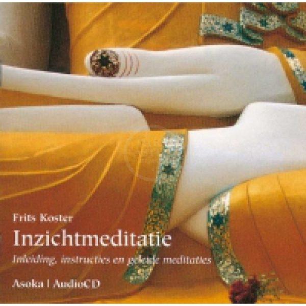Inzichtmeditatie Frits Koster CD 9789056700577 Muziek Bloom web