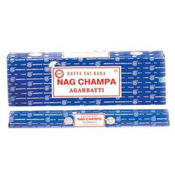 Nag Champa Wierook Jumbo Box Bloom Web