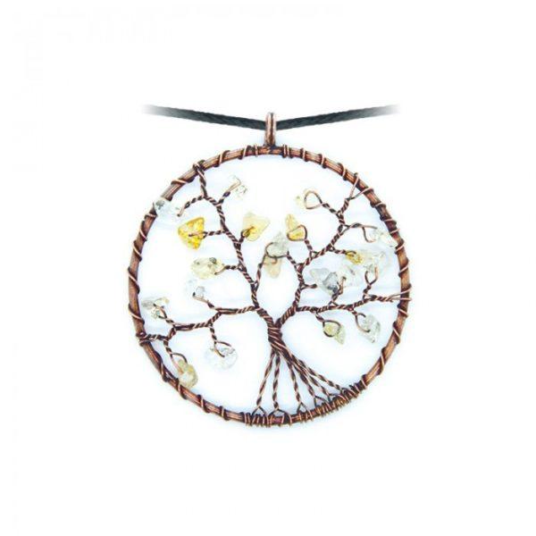 Levensboom Citrien Ketting Bloom web
