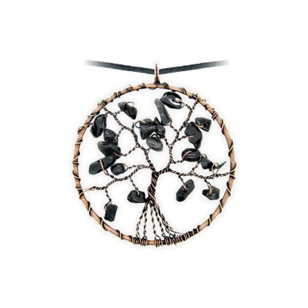 Levensboom Onxy Ketting Bloom web