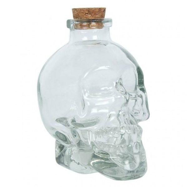 Wicca schedel met kurk