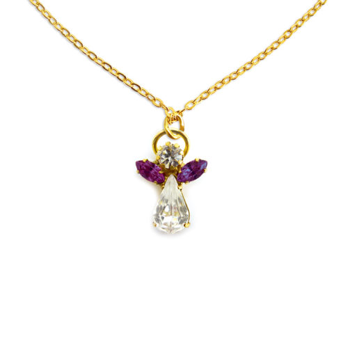 Engel kristal februari - Amethyst