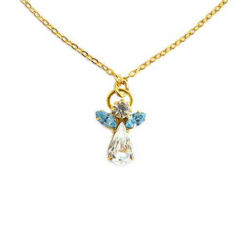 Engel kristal maart - Aquamarijn